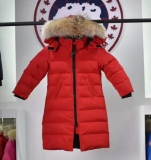 2019.10 Canada Goose Down Jacket With Removable Real coyote fur ruff Children-BY (6)