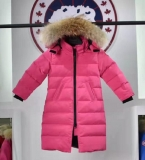 2019.10 Canada Goose Down Jacket With Removable Real coyote fur ruff Children-BY (8)