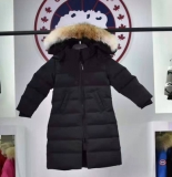 2019.10 Canada Goose Down Jacket With Removable Real coyote fur ruff Children-BY (9)