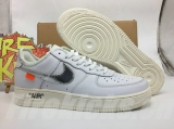 Super Max Perfect OFF-WHITE x Nike Air Force 1 Men And Women Shoes (98%Authentic)-YC (61)