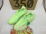 "(PK Quality)Authentic Adidas Yeezy 350 Boost V2""Glow ""Men And Women Shoes -ZL"