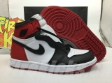 "Perfect Air Jordan 1 Satin WMNS ""Black Toe"" Men Shoes -SY (94)"
