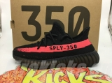 "(Better quality)Super Max Perfect Adidas Yeezy 350 Boost V2""PinkBlack""Men And Women Shoes(95%Authentic) -ZL"