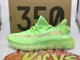 "(Better quality)Super Max Perfect Adidas Yeezy Boost 350 V2 ""Glow In The Dark"" Men And Women Shoes(95%Authentic)-JB2"