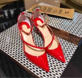 2019.12 Perfect Christian Louboutin 8cm High Heels Women Shoes -TR (14)