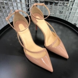 2019.12 Perfect Christian Louboutin 8cm High Heels Women Shoes -TR (15)