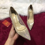 2019.12 Perfect Christian Louboutin 8cm High Heels Women Shoes -TR (17)
