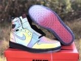 Authentic Nike Air Jordan 1 High Zoom Fearless Men Shoes-ZL