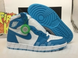 "(Final version) Authentic Air Jordan 1 Retro High OG""UNC"" -ZLDG"