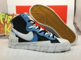 Sacai x Authentic Nike Blazer Mid Men Shoes -ZL (2)