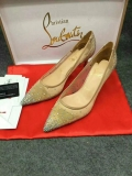 2019.12 Perfect Christian Louboutin 8cm High Heels Women Shoes -TR (39)