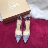 2019.12 Perfect Christian Louboutin 8cm High Heels Women Shoes -TR (41)