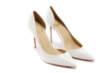 2020.01 Perfect Christian Louboutin 8cm High Heels Women Shoes -TR (49)
