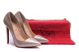 2020.01 Perfect Christian Louboutin 10cm High Heels Women Shoes -TR (55)