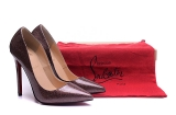2020.01 Perfect Christian Louboutin 10cm High Heels Women Shoes -TR (57)