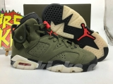 (Final version)Travis Scott x Authentic Air Jordan 6 GS -ZLFZ