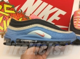 2020.01 Nike Super Max Perfect Air Max 97 Blue Corduroy Men And Women Shoes(98%Authentic)-JB (195)