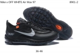 2020.3 OFF WHITE x Nike Air Max 97 Men And Women Shoes -XY (2)