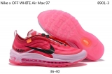 2020.3 OFF WHITE x Nike Air Max 97  Women Shoes -XY (1)