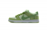 2020.04  Strange Love x Super Max Perfect Nike SB Dunk Low Pro Green Men And Women Shoes(98%Authentic)-LY (18)