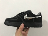 "2020.04 Travis Scott x Nike Super Max Perfect Air Force 1 ""Black""Men Shoes (98%Authentic)-LY (49)"