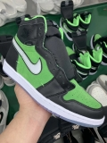 "(better quality)Super Max Perfect Air Jordan 1 High Zoom""Rage Green""Men And Women Shoes(no worry!good quality,95%Authentic) -BL"