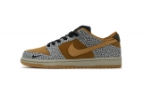"2020.04 Perfect Nike Dunk Low ""Safari"" Men And Women Shoes-LY"