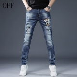 2020.04 OFF-WHITE long jeans man 28-36 (1)
