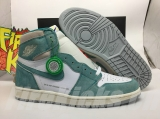 "(Final version)Authentic Air Jordan 1 ""Turbo Green"" -ZLDG"