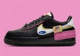 2020.05 Nike Super Max Perfect Air Force 1 Shadow Black Pink Women Shoes (98%Authentic)-LY (80)