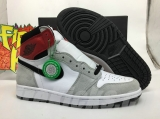 "2020.5 (Final version)Authentic Air Jordan 1 High OG""Particle Grey""-ZLDG"