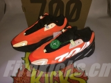 "2020.5 Authentic Adidas Yeezy 700 Boost MNVN""Orange"" Men And Women Shoes -ZLDG"