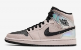 "Super Max Perfect Air Jordan 1 Mid""Iridescent ""Men And Women Shoes(no worry!good quality) -GCZX (8)"