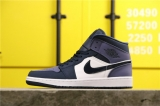 "Super Max Perfect Air Jordan 1 Mid"" Sanded Purple""Men And Women Shoes(no worry!good quality) -GCZX (10)"