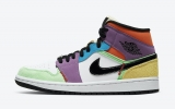 "Super Max Perfect Air Jordan 1 Mid ""Multicolor ""Men And Women Shoes (no worry!good quality) -GCZX (15)"