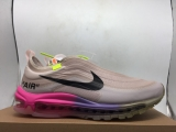 OFF WHITE x Nike Super Max Perfect  Air Max 97 Men And Women Shoes(98%Authentic)-JB (126)