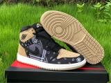 "2020.6 Super Max Perfect Air Jordan 1 ""Bandana""Men Shoes -ZL"