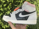 "2020.06 Normal Authentic quality and Low price Air Jordan 1""Neutral Grey""Men And GS Shoes - LJR"