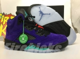 "2020.6 Authentic Air Jordan 5 ""Alternate Grape""-ZL"
