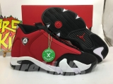 "2020.6 (Newest version)Authentic Air Jordan 14  ""Gym Red"" -ZL"