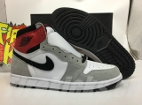 "(better quality)Super Max Perfect Air Jordan 1""Light Smoke Grey""Men And Women Shoes(no worry!good quality,95%Authentic) -LJR"