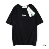 2020.07 Off White Short T-shirt M--2XL (80)