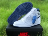 "2020.7 (Final version)Authentic Air Jordan 1 High OG""Metallic Navy""-ZLDG"