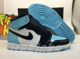 "(better quality)Super Max Perfect Air Jordan 1 ""UNC Patent""Men And Women Shoes(no worry!good quality,95%Authentic) -GET"
