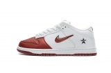 2020.8 Supereme X Super Max Perfect Nike Dunk SB Low White Red Men And Women Shoes(98%Authentic)-LY (48)