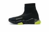2020.08 Super Max Perfect Belishijia Speed Clear Sole Sneaker Black Yellow Fluo Men And Women Shoes - LY (25)