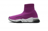 2020.08 Super Max Perfect Belishijia Speed Clear Sole Sneaker Fuchsia White Women Shoes - LY (24)