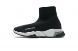 2020.08 Super Max Perfect Belishijia Speed Clear Sole Sneaker Black White Men And Women Shoes - LY (23)