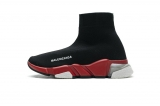 2020.08 Super Max Perfect Belishijia Speed Clear Sole Sneaker Black Red Men And Women Shoes - LY (22)