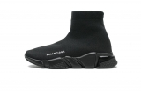 2020.08 Super Max Perfect Belishijia Speed Clear Sole Sneaker Black  Men And Women Shoes - LY (21)